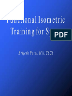 Functional Isometric Training for Sport Hc Print Version
