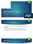 Session 5 - Industrial Banks