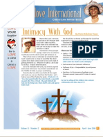 Christlove International Newsletter April-June