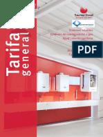 Catalogo Tarifa Saunier Duval Distribucion Saneamador 2015