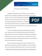 Volume 2.5 the Economy vs the Stock Market April 22 2010