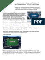 Teknik Poker On line Menggunakan Teknik Menggertak