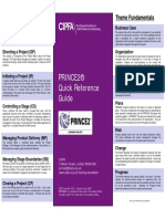 PRINCE2 Quick Reference Guide