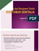 Diagnosis Dan Manajemen Duh Tubuh Genetalia