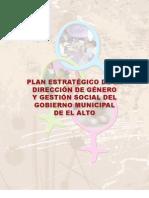 Plan Estretegico de la Dirección de Género de El Alto