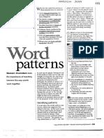 Hunston S 2001 Word Patterns