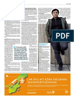 Nuri Kino intervjuad av tidningen Dagens Samhälle