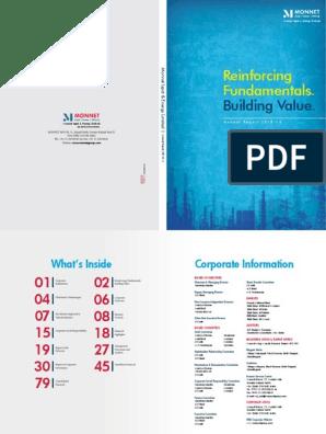 Reinforcing Fundamentals : Building Value
