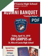 2010 Alumni Banquet Program