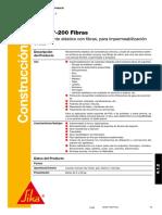 SikaFill-200 Fibras