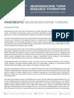 PANCREATIC NEUROENDOCRINE TUMORS