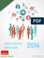 Adecco Vietnam Salary Guide 2016