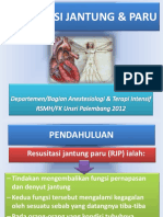 Resusitasi Jantung Dan Paru Dr.echi