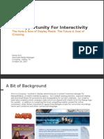 IC Display Media Opportunities