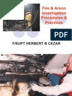 Fire & Arson Investigation Procedure & Practices(new)
