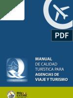 MANUAL DE CALIDAD TURÍSTICA PARA AGENCIAS DE VIAJE Y TURISMO