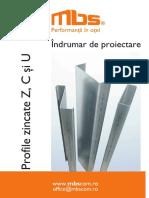 Indrumar_tehnic Profile Zincate