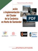 ClusterdelacerámicaparaNortedeSantander