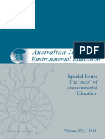 Ajee_27!1!2011_special_issue-1 Many Articles in Australian Environmental Education Journals (Kam,25 Sep'14)
