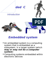 Embedded C. Lecture 0. Intro
