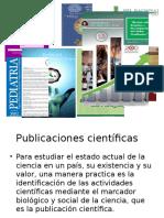 Presentación sobre publicacion cientifica