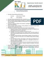 Technical Meeting Guideline & General Rules LKTI UI 2016