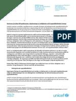 Remissvar på utkast till lagrådsremiss - Begränsningar av möjligheten att få uppehållstillstånd i Sverige