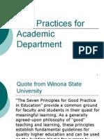 PROFESIONALISME GURU- BEST PRACTICES IN ACADEMIC DEPARTMENT