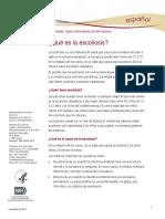 Scoliosis Ff Espanol
