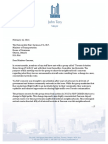 Mayor John Tory's Letter to Minister Garneau Feb 2016