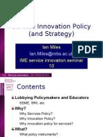 2010 Ser Inn BMAN62052 Seminar 10 Policy