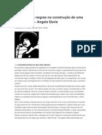As Mulheres Negras Na Construção de Uma Nova Utopia Angela Davis