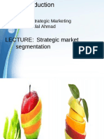 Strategic Marketing Lectures 4