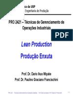 produção enxuta 1
