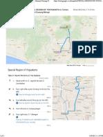 SPECIAL REGION of YOGYAKARTA to Taman Nasional Gunung Merapi - Google Maps