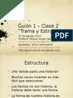 Guion 2 02 Trama y Estructura 27ago2010