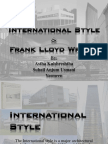 International Style and Frank Lloyd Wright (Corrected Final)