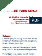 INTERNA Dr. Farida - Penyakit Paru Kerja
