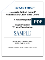 CA Court Practice Exam