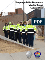 Albuquerque Police Department Monthly Report October 2015
