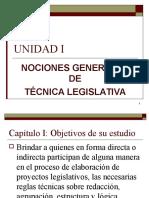Unidad i Nociones Generales de Tecnica Leg