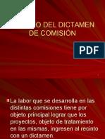 u II Armado Del Dictamen de Comisión