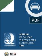 MANUAL DE CALIDAD TURISTICA PARA