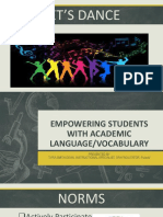 academic language powerpoint presentation
