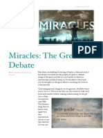 Miracles the Great Debate