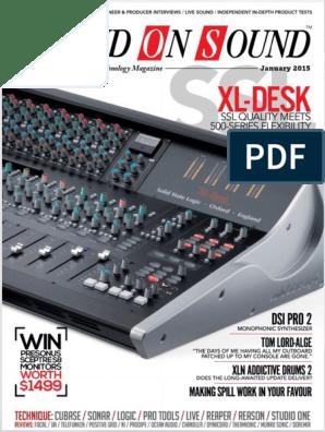Sound on Sound 2015-01 | I Pad | Ios
