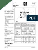 Válvulas de Retenção Flangeadas - Modelo RG
