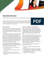Tecnotree Services Datasheet