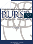 Rice RURS 2015 Abstracts