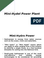 Mini Hydel Power Plant - Unit 5